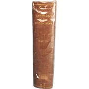War Medals Of The British Army – 1893 First Edition By Thomas Carter