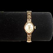 Ladies Circa 1968-69 Swiss Empress 21 Jewels 9ct Gold Incabloc Watch