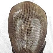 Circa 1910 Fencing Mask #1