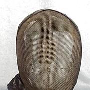 Circa 1910 Fencing Mask #2