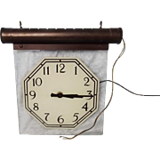 Pre-War Smiths Produced MG Motor Showroom Clock