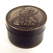 c1852 Wellington Commemorative Patch Box