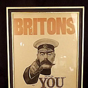 Lord Kitchener Wants You IWM Framed Print