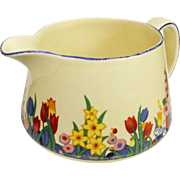 1930s Clarice Cliff Bizzare Chloris Pattern Jug