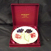 Moorcroft Pottery Freesia Pattern Year Plate 1987 - 14/250