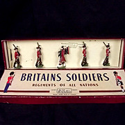Britains Soldiers ROAN 212 The Royal Scots Lead Figures 1940-61