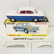 Dinky Toys 157 - B.M.W 2000 Tilux – 1968-73
