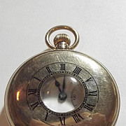 1930 9ct Yellow Gold Half Hunter Pocket Watch