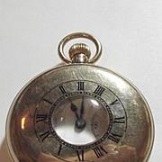 1930 9ct Yellow Gold Half Hunter Pocket Watch