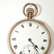 Dennison 1916 Open Faced 9Ct Gold Pocket Watch