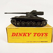 French Dinky 80C AMX Tank Green