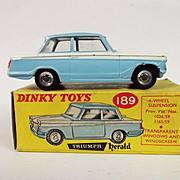 Boxed Dinky 189 Triumph Herald