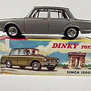 Boxed French Dinky 523 Simca 1500