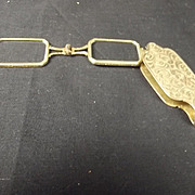 Late 19th Century Gold Folding Lorgnettes No. 2