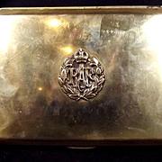 "Brass RAF ""State Express Cigarettes"" Cigarette Box"