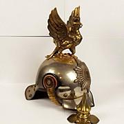 Prussian Leib-Gendarmeria Garde Du Corps Enlisted Mans Helmet
