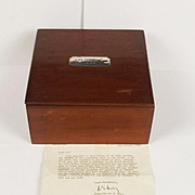 HMS Tenedos II (1859) Silver Mounted Box