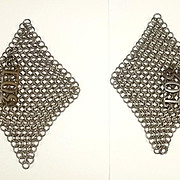 30th Lancers Chain Mail Epaulettes