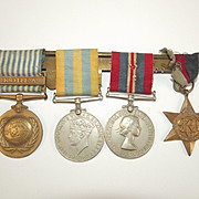 WW2 And Korean War Medal Set Of PL Y/X.4411 V.C. CLARK Royal Marines