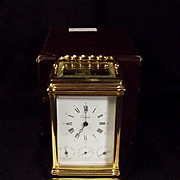 French Eurotime Carriage Clock