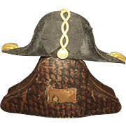 Circa WW1 Cased Royal Navy Bicorn