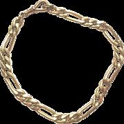 9ct Yellow Gold Chain Bracelet