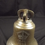 1944 Air Ministry Scramble Bell And Bracket