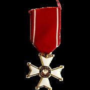 Order Of Polonia Restituta 1918 Knights Cross