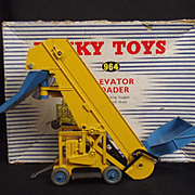 Blue & White Stripped Boxed Dinky Supertoys 964 Elevator Loader