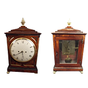 Circa 1870 Victorian Mantel Clock By Arthur Saunders