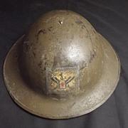 1917 Royal Garrison Artillery Brodie Helmet