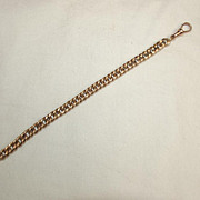 9Ct Rose Gold Bracelet Chain 7.5 Inches