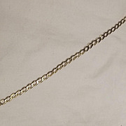 Italian 9 Ct Gold Bracelet - 8.5 Inches
