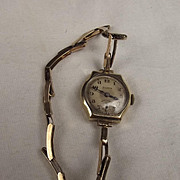 9Ct Gold Early 20th Century Helvetia Ladies Watch