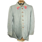 1917 French Artillery Mounted Troop Jacket