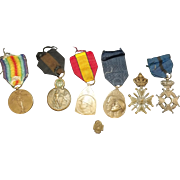 Belgian WW1 Medal Set