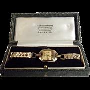 9Ct Gold Ingersoll Excalibur Ladies Watch
