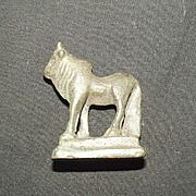 Circa 200BC Egyptian Zoomorphic Figurine Of A Water Buffalo