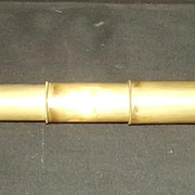 Pocket Negretti & Zambra Brass Six Draw Telescope
