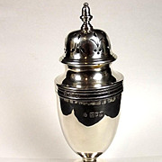 Silver London 1915 George III Style Sugar Shaker