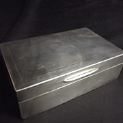 London 1926 Marked Silver Cigarette Case