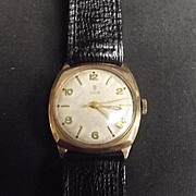 1956 9Ct Gold Tudor Cushion Watch