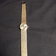 9Ct Gold Omega Ladies Bracelet Watch