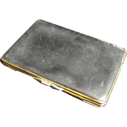 1899 Leather And Gold Pocketbook