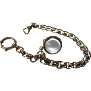 Antique Pools of Light Locket/Watch Chain