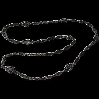 Vintage Peruzzi Sterling Necklace