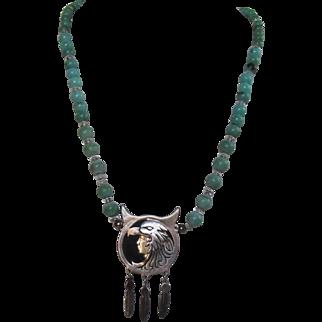 Vintage Heyoka Merrifield Sterling Silver Necklace