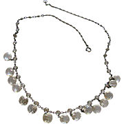 Antique Victorian Crystal Necklace