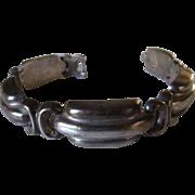 Vintage Bayanihan Sterling Silver Modernist Bracelet