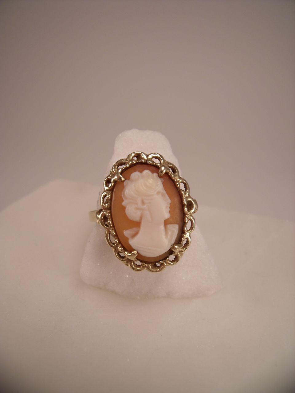 Cameo ring vintage shemale pictures for Jh jewelry guarantee 2 years